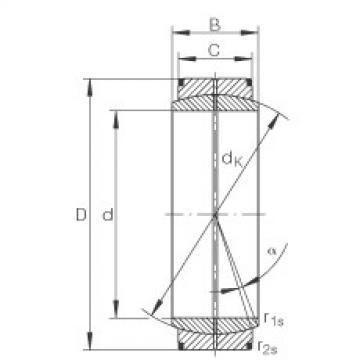 FAG Radial spherical plain bearings - GE630-DO