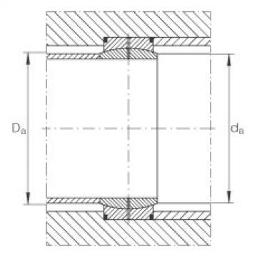 FAG Radial spherical plain bearings - GE670-DO