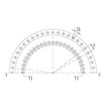 FAG Axial/radial bearings - YRT650