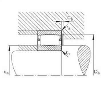 FAG محامل حلقية - C39/710-XL-M