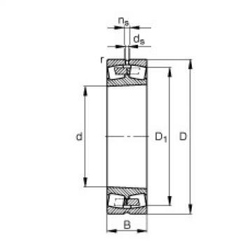 FAG محامل كروية - 241/850-B-K30-MB