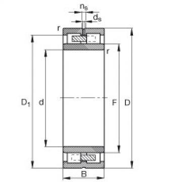 FAG محامل أسطوانية - NNU4938-S-M-SP