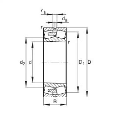 FAG محامل كروية - 241/530-BEA-XL-K30-MB1