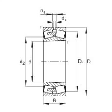 FAG محامل كروية - 241/560-BEA-XL-K30-MB1