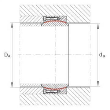 FAG Large radial spherical plain bearings - GE630-DW
