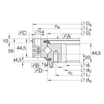 FAG عبرت محامل - XSI140644-N
