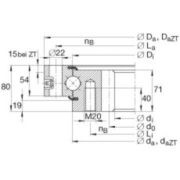 FAG أربعة محامل الاتصال نقطة - VSI250755-N
