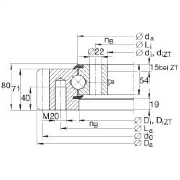 FAG أربعة محامل الاتصال نقطة - VSA251055-N