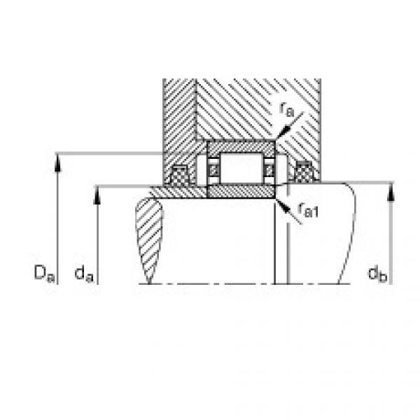 FAG محامل أسطوانية - NU19/560-M1 #3 image