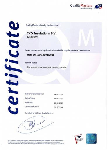 Nenen ISO 14001: 2015