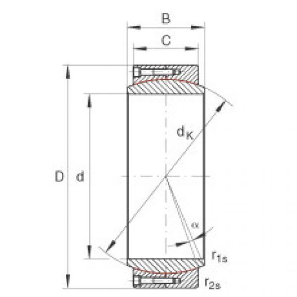 FAG Large radial spherical plain bearings - GE530-DW #1 image